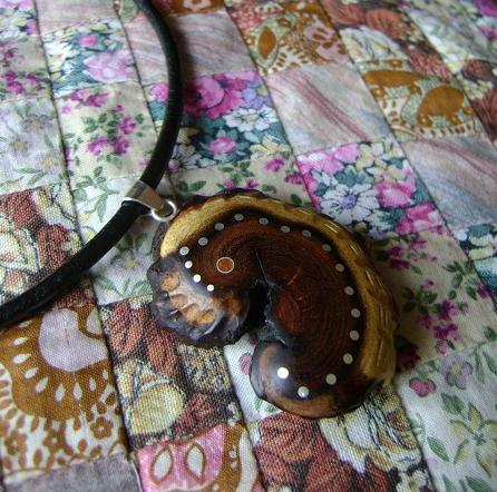 NECKLACE NH-108 - MEXICAN WOOD