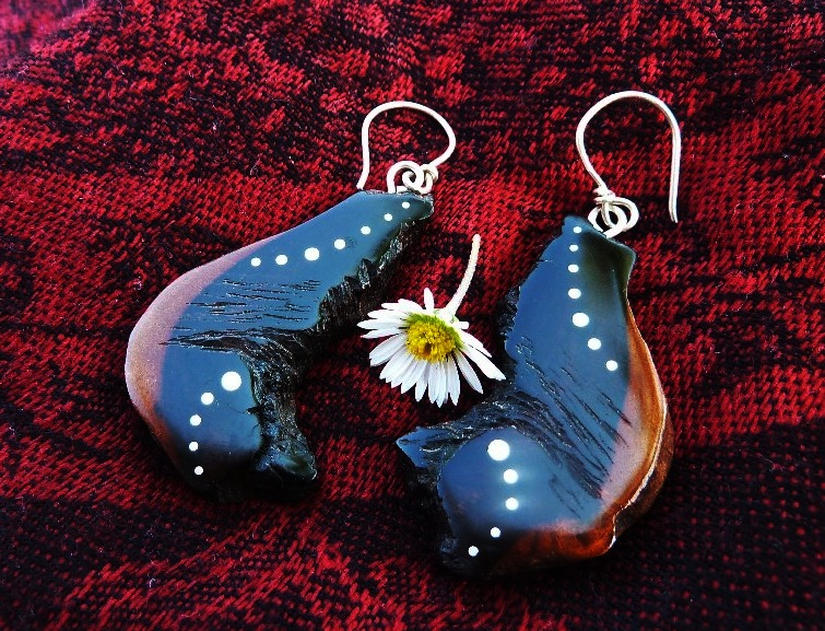 EARRINGS NA - 046 EXOTIC root