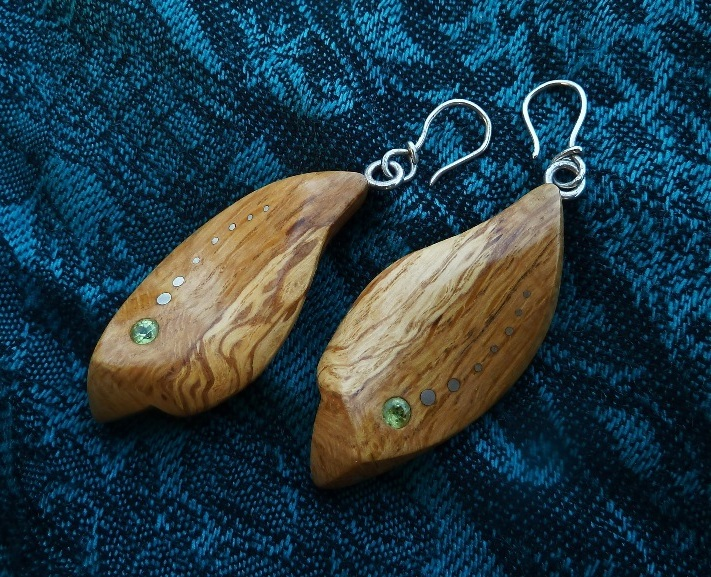 EARRINGS NA - 048 OAK - OLIVIENTE 4mm
