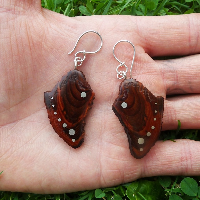 EARINGS NA-054 - PINE form High Tatras 6.