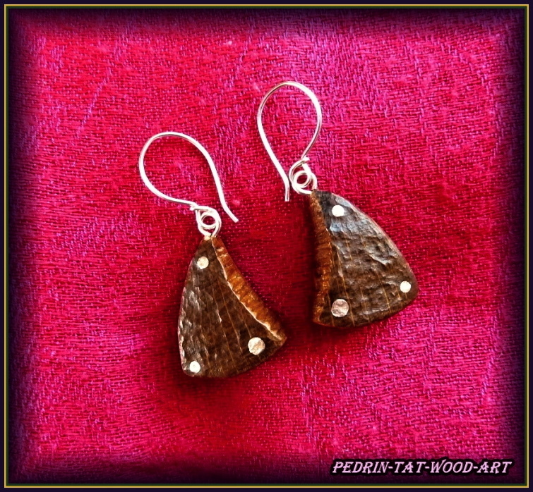 EARINGS NA-064 OAK