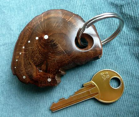 KEY RING KL-007 OAK