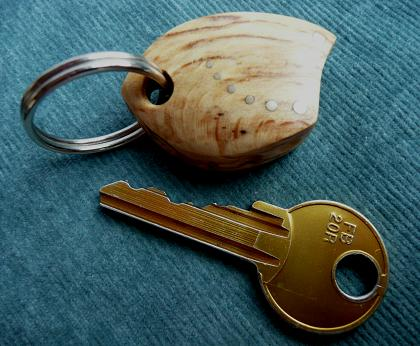 KEY RING KL-009 BEECH
