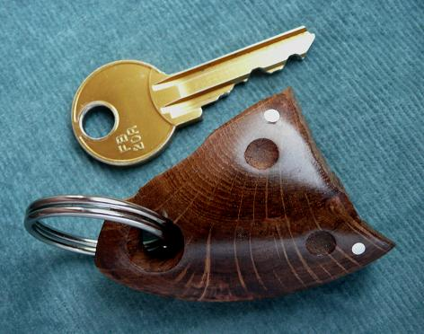 KEY RING KL-004 OAK