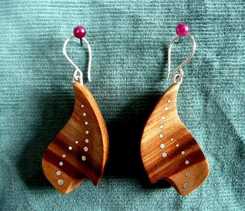 EARRINGS NA-009 - PEAR -09