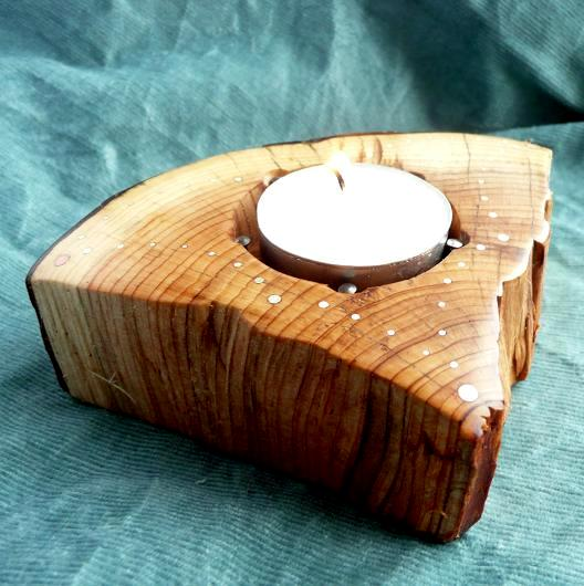 CANDLESTICK - SV-008 - YEW