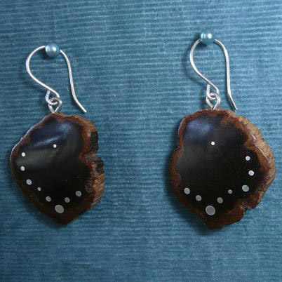 EARRINGS NA-002 - OAK